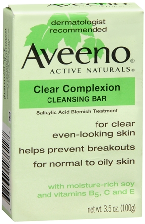 AVEENO Active Naturals Clear Complexion Cleansing Bar 3.50 oz [381370036227]