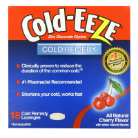 COLD-EEZE Lozenges Natural Cherry 18 per box [091108100136]