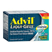 Advil Liqui-Gels Minis Pain Reliever 20 ea [305731769203]