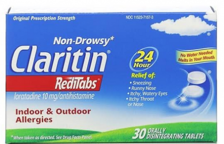 CLARITIN 24 Hour Allergy RediTabs 30 Tablets [041100806048]