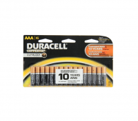 Duracell CopperTop AAA Alkaline Batteries 16 ea [041333740645]