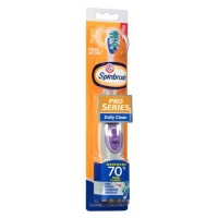 ARM & HAMMER Spinbrush Pro Series Daily Clean Powered Toothbrush Medium - Color Vary [766878000794]