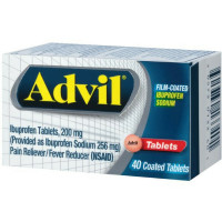 Advil Film-Coated Ibuprofen 200 mg Tablets 40 ea [305730133401]