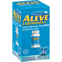 Aleve All Day Strong Pain Reliever/Fever Reducer Liquid Gels 120 ea [325866558343]