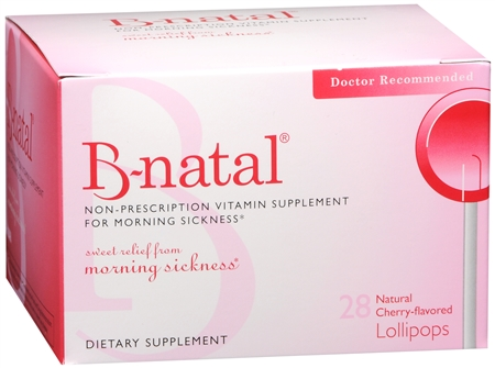 B-natal Cherry Flavored TheraPops 28 Each [602359460018]