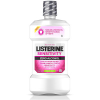 Listerine 24-HR Tooth Sensitivity Relief & Protection Alcohol-Free Formula Sensitivity Mouthwash, Fresh Mint Flavor 16.90 oz [312547235976]