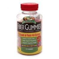 Garden Greens Fiber Gummies Fruit Flavored Fiber Dietary Supplement 120 Each [035046078539]