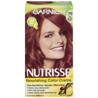 Garnier Nutrisse Nourishing Hair Color Creme, 76 Rich Auburn Blonde 1 ea [603084245543]