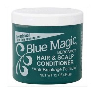 Blue Magic Hair & Scalp Conditioner, Bergamot 12 Oz [075610161106]