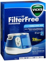 Vicks V4500 Cool Mist Humidifier 1 Each [328785245004]