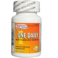 One Daily   MultiVitamin with Minerals Tablets  60 ea [632131824066]