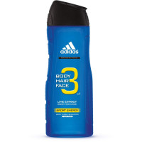 adidas Male Personal Care 3-in-1 Body Wash Sport Energy 16 oz [3607343766661]