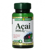 Nature's Bounty Acai 1000 mg Softgels 60 ea [074312199653]