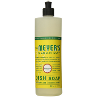Meyers Clean Day Liquid Dish Soap, Honeysuckle Scent 16 oz [808124174238]