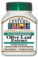 21st Century Olive Leaf Extract 60 pills [740985217160]