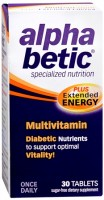 alpha betic Multi-Vitamin Caplets 30 Caplets [020065600380]
