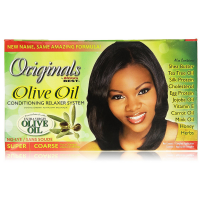 Africa's Best Originals Olive Oil Conditioning Relaxer System, Super/Coarse 1 ea [034285541002]