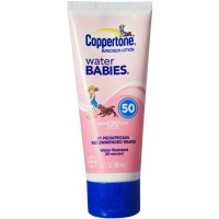 Coppertone Water Babies Sunscreen Lotion SPF 50 3 oz [041100004383]