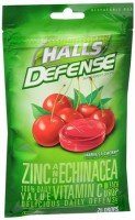 Halls Defense Zinc Drops Harvest Cherry 25 Each [312546623576]