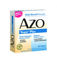 AZO Yeast Plus Tablets 60 ea [787651606675]