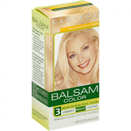 Balsam Permanent Color - 599 Ultra Light Natural Blonde 1 Each [381513819595]