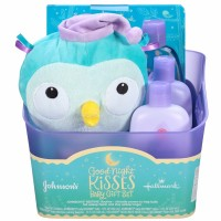 Johnson's Baby Bedtime Good-Night Kisses Baby Gift Set 5 ea [381371167234]