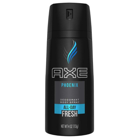 AXE Body Spray for Men, Phoenix 4 oz [079400550200]