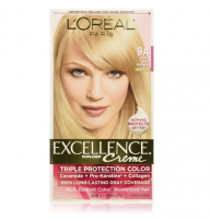 L'Oreal Paris Excellence Creme Haircolor, Light Ash Blonde [9A] (Cooler) 1 ea [071249210765]