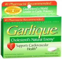 Garlique Caplets 30 Tablets [047046300008]