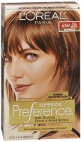 L'Oreal Superior Preference - 6AM Light Amber Brown (Warmer) 1 Each [071249253403]