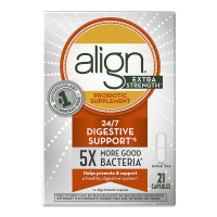 Align Extra Strength Daily Probiotic Supplement, Probiotics Supplement Capsules 21 ea [037000505051]