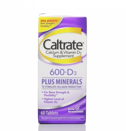 Caltrate 600+D Plus Minerals Tablets 60 ea [300055556195]