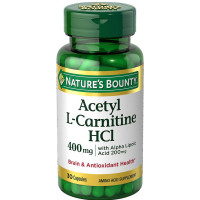 Nature's Bounty Acetyl L-Carnitine With Alpha Lipoic Acid Capsules 30 Capsules [074312660702]