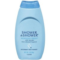 SHOWER TO SHOWER Absorbent Body Powder, Morning Fresh 1 oz [301875457013]