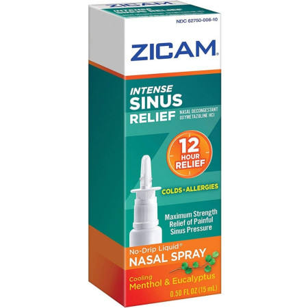 Zicam Intense Sinus Relief Liquid Nasal Spray 0.50 oz [732216204001]