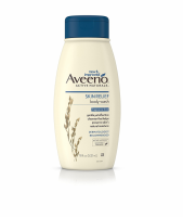 AVEENO Active Naturals Skin Relief Body Wash, Fragrance Free 18 oz [381371170302]