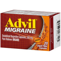 Advil Migraine 200 mg Liquid Filled Capsules 20 ea [305730168205]