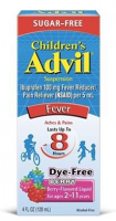 Advil Children's Suspension Sugar Free, Dye Free, Berry 4 oz [305730232302]