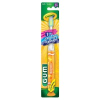 GUM Crayola Toothbrush Soft Assorted Colors 1 Each [070942124898]
