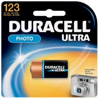 Duracell Ultra High-Power Lithium Battery, 123, 3V 1 ea [041333112107]