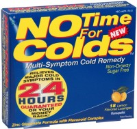 NO Time For Colds Lozenges Lemon 18 Each [648668170019]