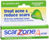 Scar Zone Acne Cream with Green Tea 0.50 oz [018515616807]