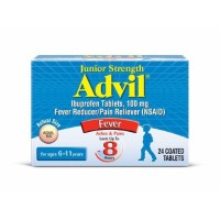Advil Junior Strength 100 mg Coated Caplets 24 Tablets [305730175111]