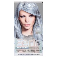 L'Oreal Paris Feria Smokey Pastels Permanent Haircolor, Smokey Blue 1 ea [071249315316]