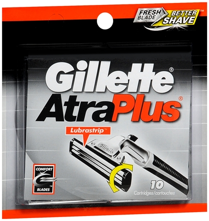 Gillette AtraPlus Cartridges 10 Each [047400116252]