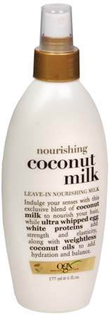 Organix Nourishing Coconut Milk Leave-In Nourishing Milk 6 oz [022796910332]