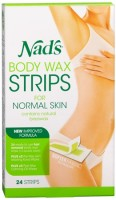 Nad's Hair Removal Strips 24 Each [638995001926]