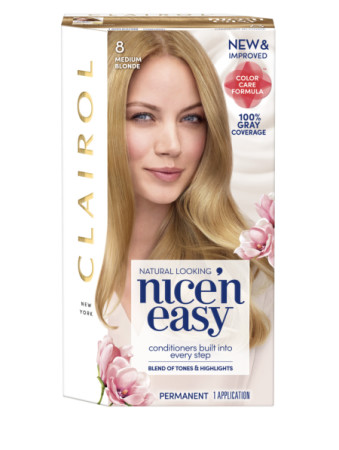 Nice'n Easy Permanent Color, Natural Medium Blonde [8/103A] 1 ea [070018116567]