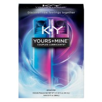 K-Y Yours + Mine Couples Personal Lubricants 3 oz [067981950526]