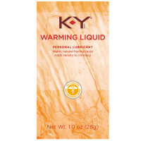 K-Y Warming Liquid Lubricant 1 oz [067981087109]
